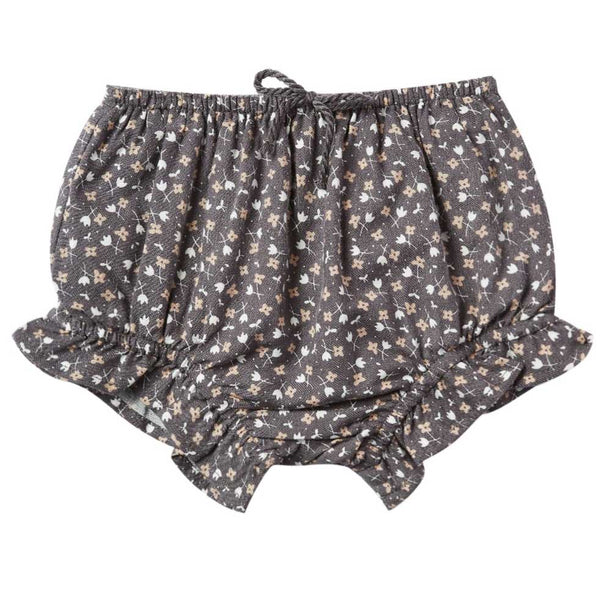 Rylee and Cru Vintage Navy Floral Bloomers