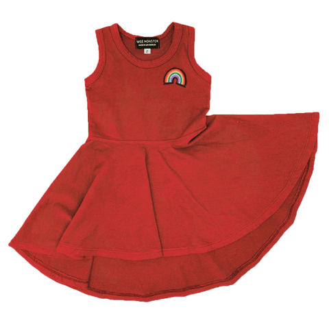 Wee Monster Rainbow Circle Girls Dress