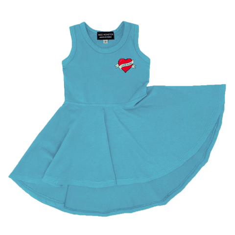 Wee Monster Love Song Circle Girls Dress