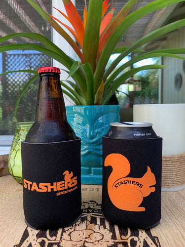 Squirrel Can & Bottle Coozies