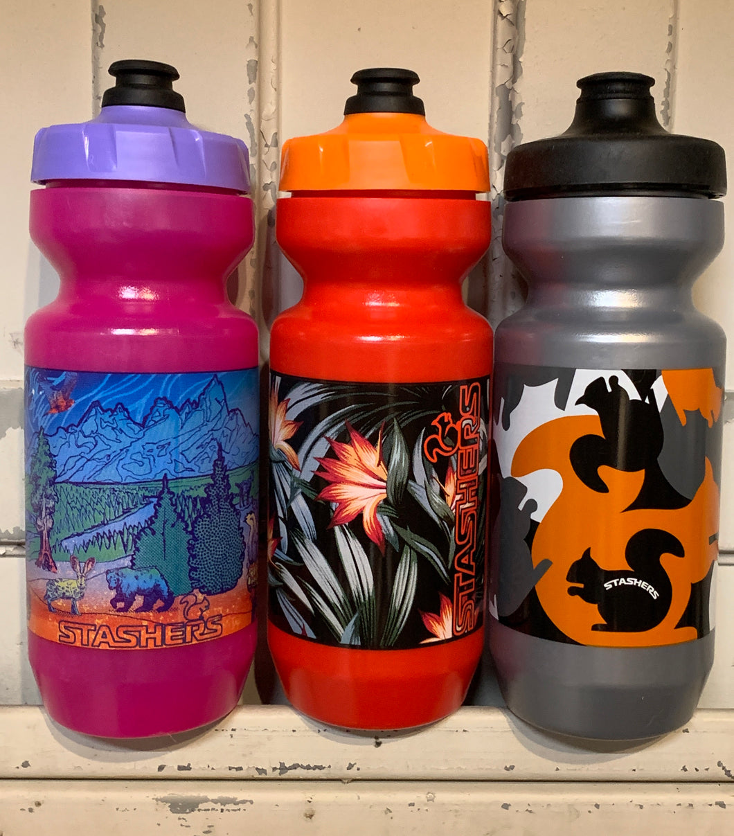 STASHERS Purist Water Bottles