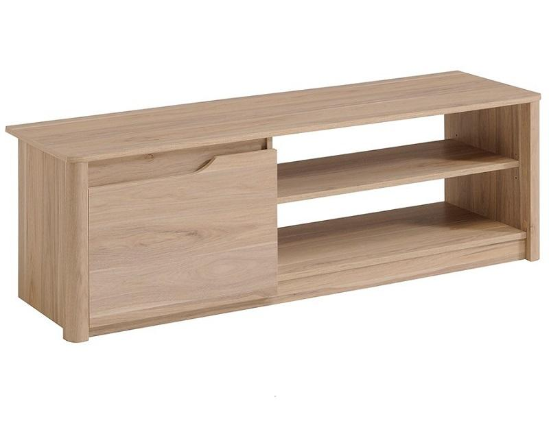 Mesa De Tv Modelo Vigo- Roble Dakota
