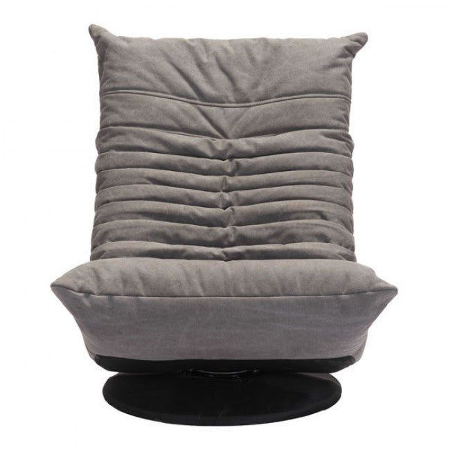 Sillon Giratorio Modelo Down Low - Gris