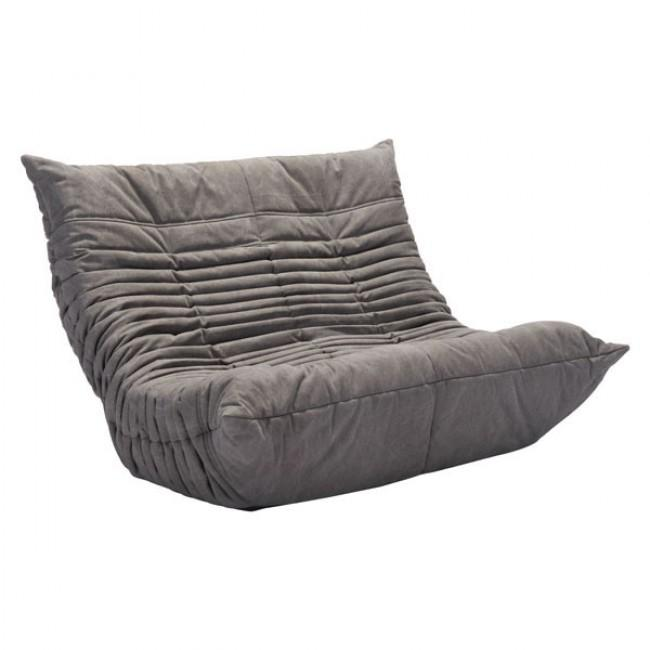 Love Seat Modelo Down Low - Gris