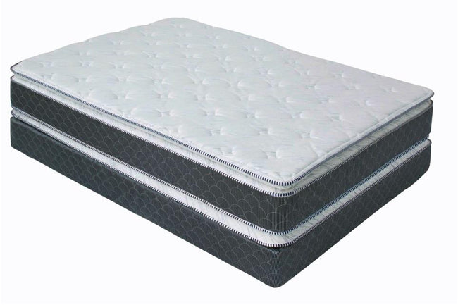 Box Maximum Queen Size - Gris y Blanco