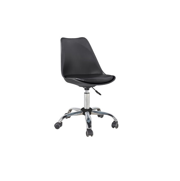 Silla New Office 3 - Negro / Plata