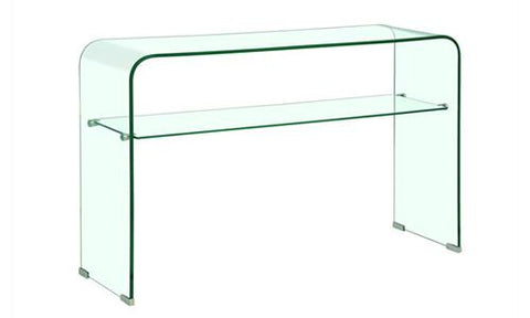Mesa Lateral Element Glass Nogal - Nogal Y Cristal