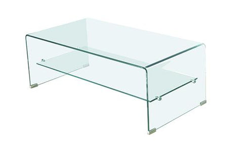 Mesa De Comedor Element Glass Nogal - Nogal Y Cristal