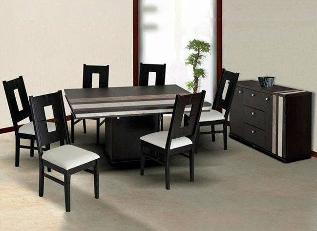 Comedor Allegro 6 Sillas - Chocolate