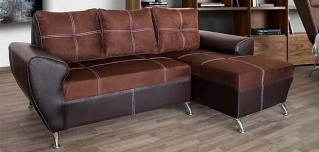 Sala Modelo Barcelona Chaise Longue - Chocolate
