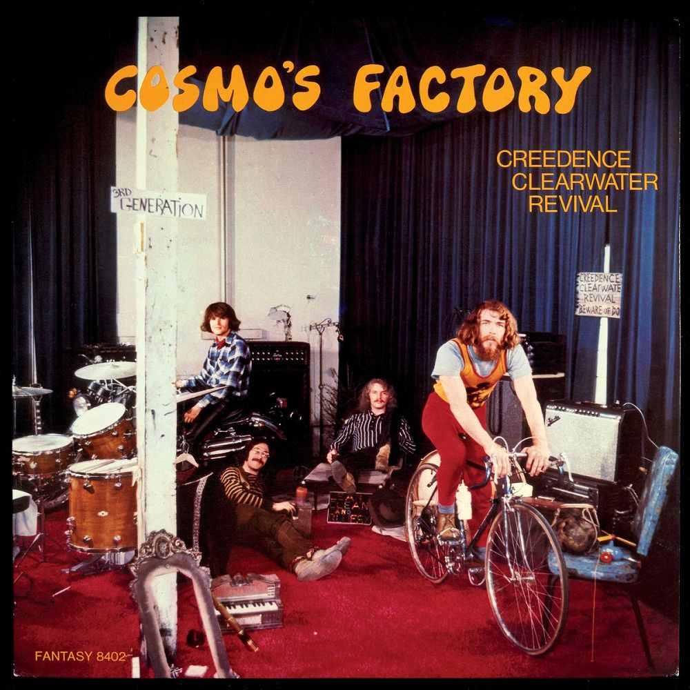 CREEDENCE CLEARWATER REVIVAL - Cosmo's Factory (Vinyle) - Fantasy