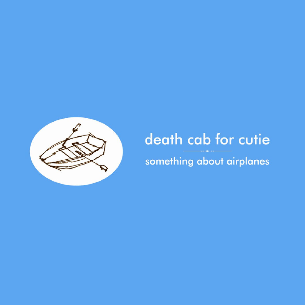 DEATH CAB FOR CUTIE - Something About Airplanes (Vinyle) - Barsuk