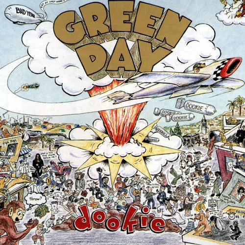 GREEN DAY - Dookie (Vinyle) - Reprise