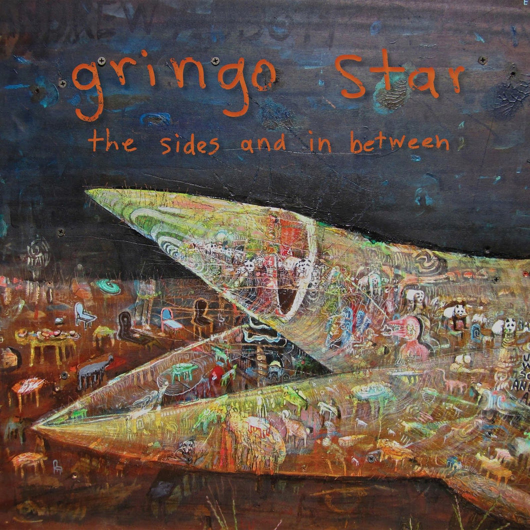 GRINGO STAR - The Sides And In Between (Vinyle) - Nevado