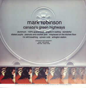 MARK ROBINSON - Canada's Green Highways (Vinyle)