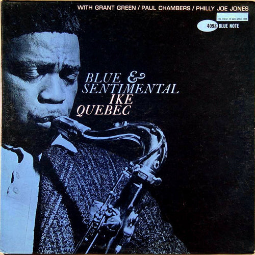 IKE QUEBEC - Blue & Sentimental (Vinyle) - Blue Note