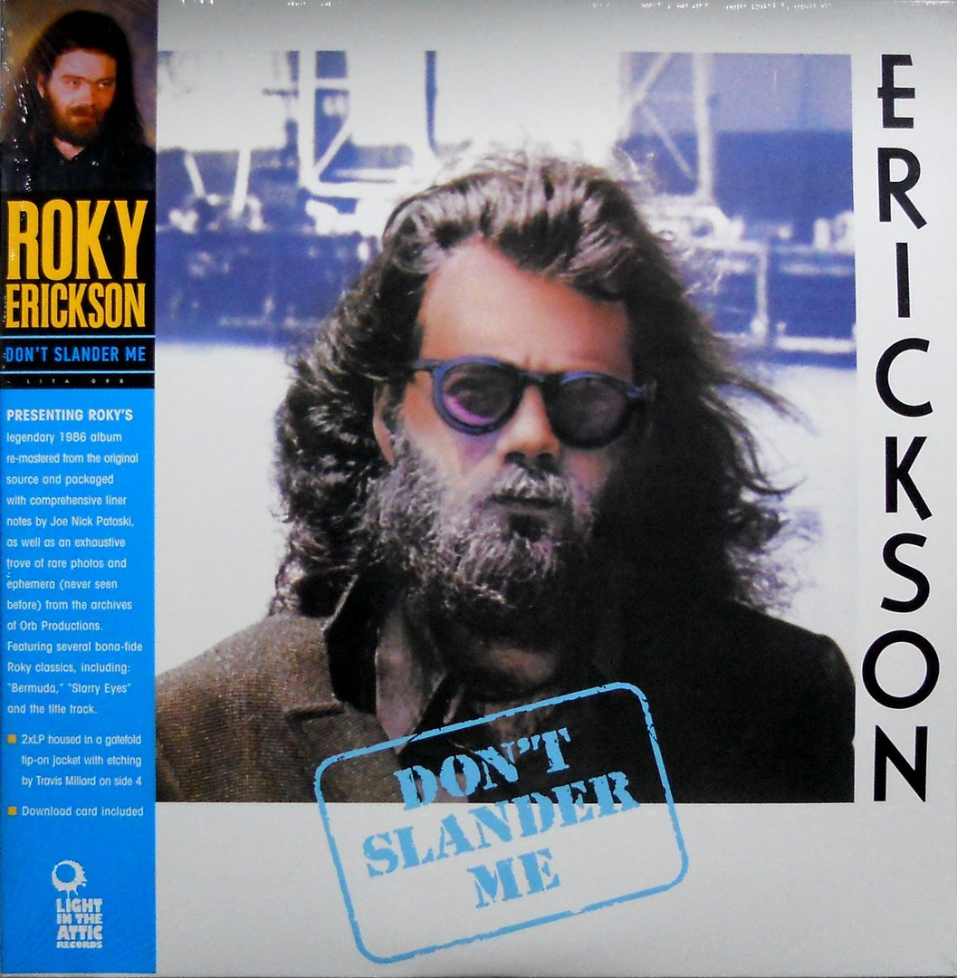 ROKY ERICKSON - Don't Slander Me (Vinyle) - Light in the Attic