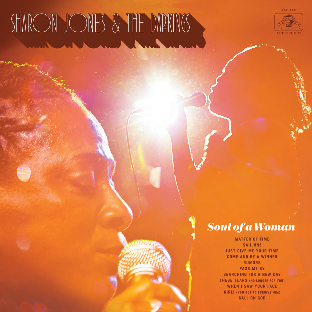 SHARON JONES & THE DAP-KINGS - Soul Of A Woman (Vinyle) - Daptone