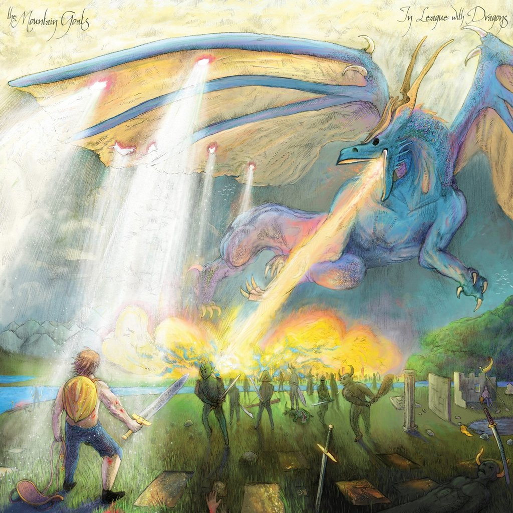 THE MOUNTAIN GOATS - In League With Dragons (Vinyle)