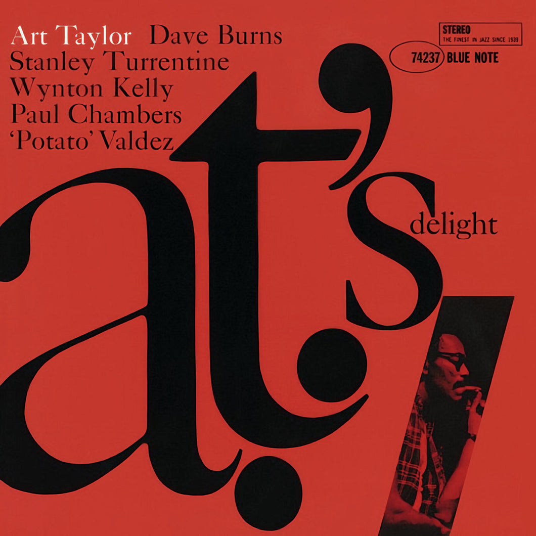ART TAYLOR - A.T.'s Delight (Vinyle) - Blue Note