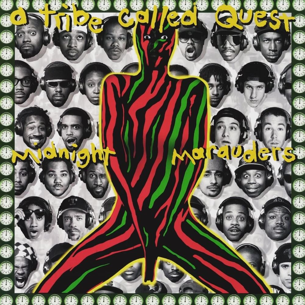 A TRIBE CALLED QUEST  ‎– Midnight Marauders (Vinyle) - Jive