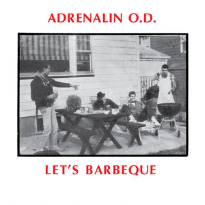 ADRENALIN O.D. - Let's Barbeque (Vinyle) - Beer City