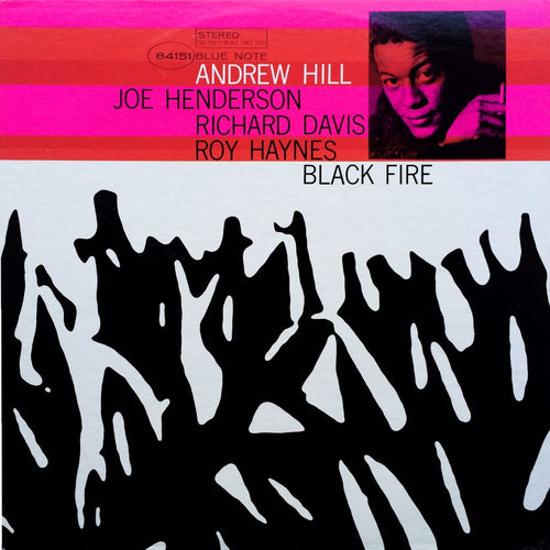 ANDREW HILL - Black Fire (Vinyle) - Blue Note