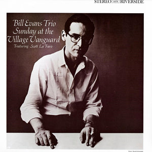 BILL EVANS TRIO - Sunday at the Village Vanguard (Vinyle) - Riverside