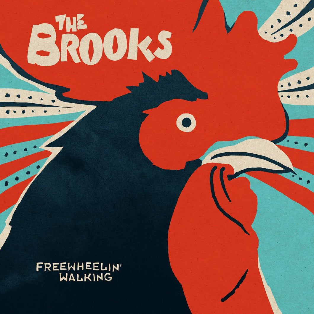 THE BROOKS - Freewheelin' Walking (Vinyle)