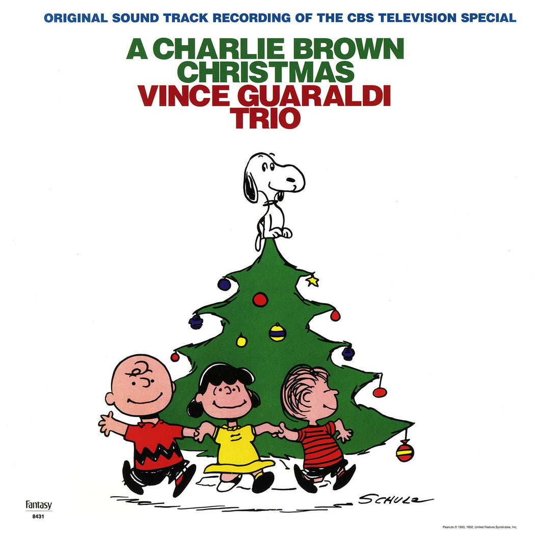 VINCE GUARALDI TRIO - A Charlie Brown Christmas (Vinyle) - Fantasy