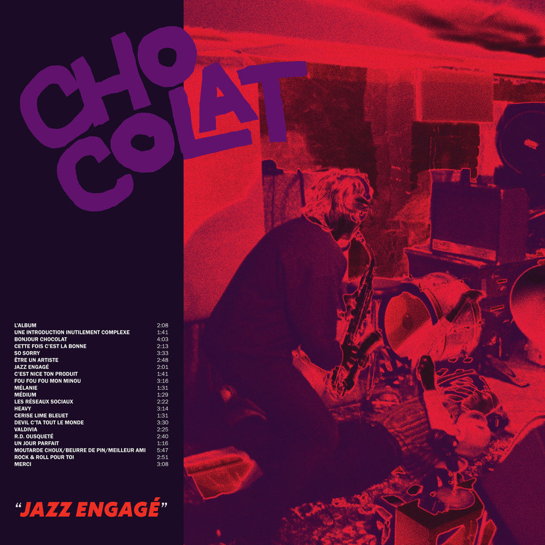 CHOCOLAT - Jazz engagé (Vinyle) - Dare To Care