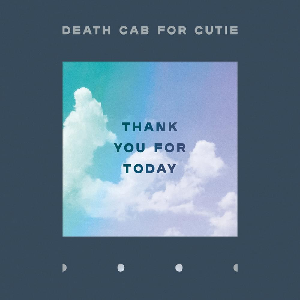 DEATH CAB FOR CUTIE - Thank You For Today (Vinyle) - Barsuk/Atlantic