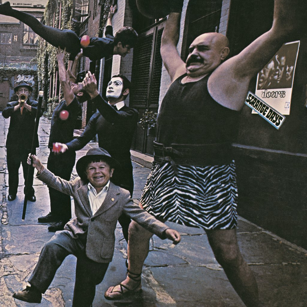 THE DOORS - Strange Days (Vinyle) - Elektra