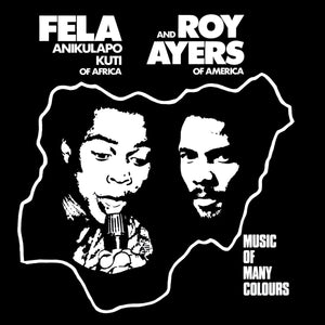 FELA KUTI & ROY AYERS - Music of Many Colors (Vinyle)