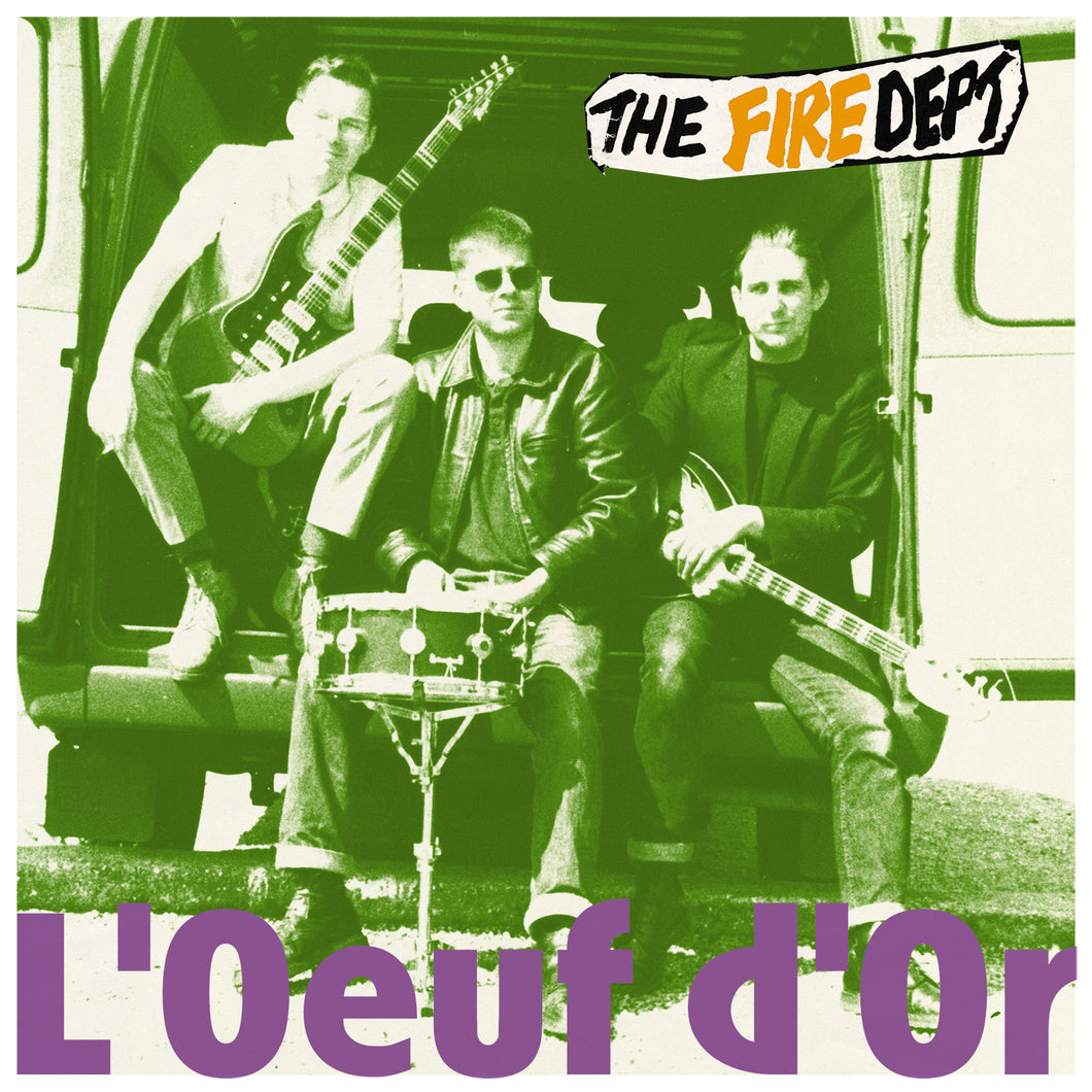 THE FIRE DEPT. - L'Œuf D'Or (Vinyle) - M'lady's