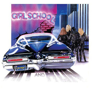 GIRLSCHOOL - Hit and Run (Vinyle) - Back on Black