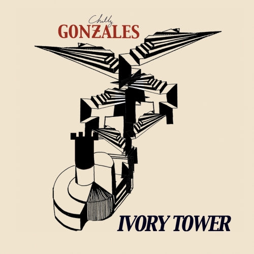 CHILLY GONZALES - Ivory Tower (Vinyle) - Gentle Threat