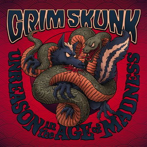 GRIMSKUNK - Unreason In The Age Of Madness (Vinyle) - Indica