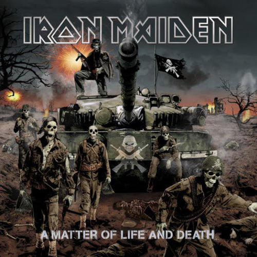 IRON MAIDEN - A Matter Of Life And Death (Vinyle)