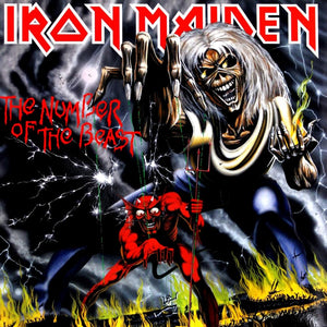 IRON MAIDEN - The Number of the Beast (Vinyle) - EMI