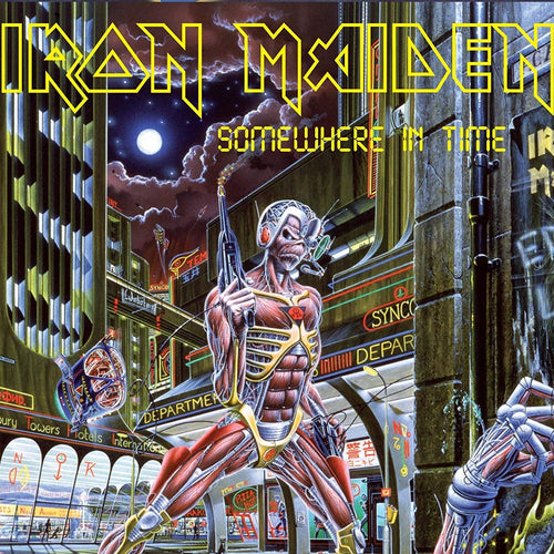 IRON MAIDEN - Somewhere In Time (Vinyle)