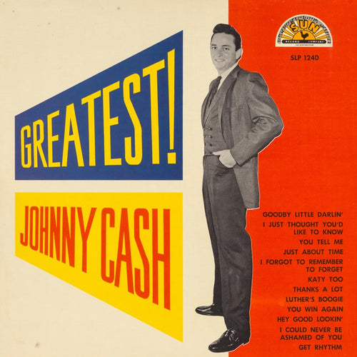 JOHNNY CASH - Greatest! (Vinyle)