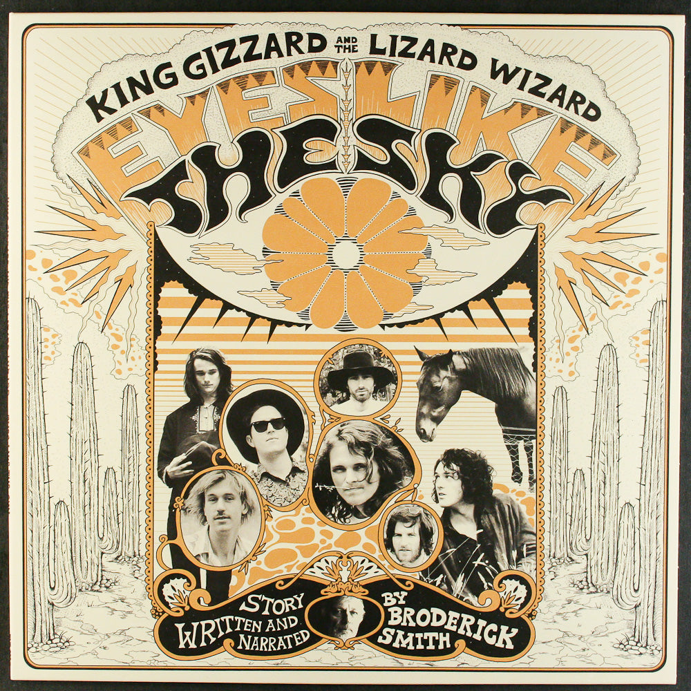 KING GIZZARD AND THE LIZARD WIZARD - Eyes Like the Sky (Vinyle) - Flightless