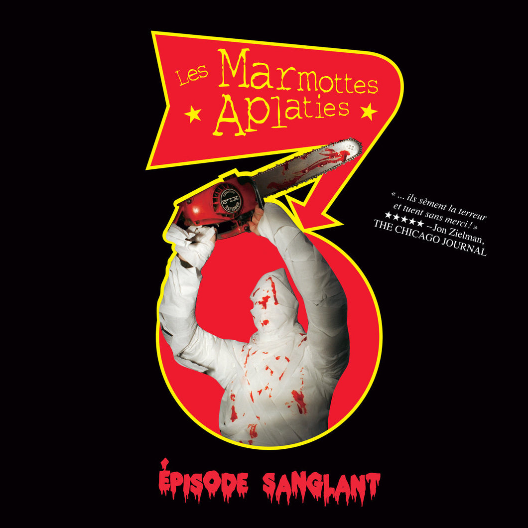 LES MARMOTTES APLATIES - Épisode Sanglant (Vinyle) - Dare To Care