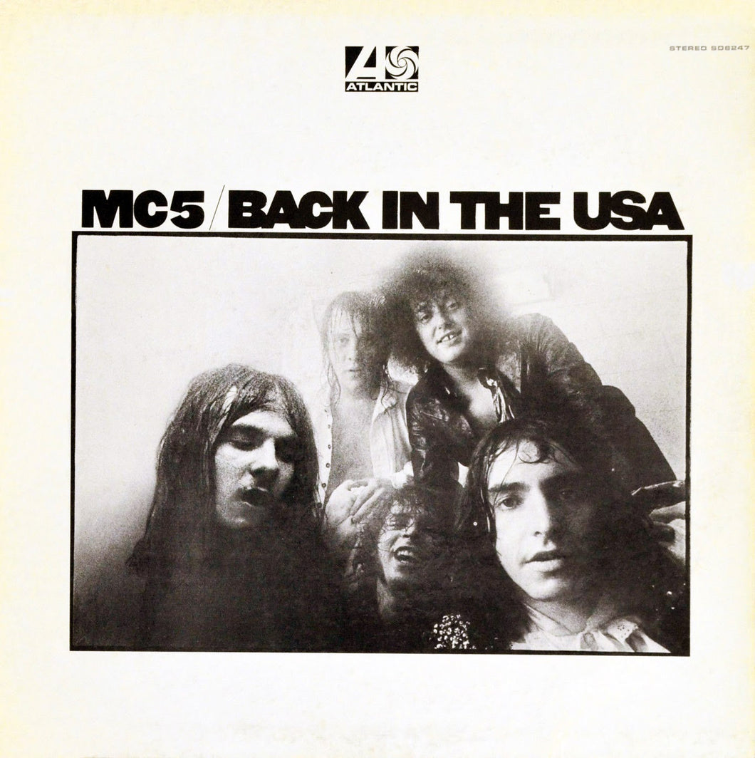 MC5 - Back In The USA (Vinyle) - Rhino/Atlantic