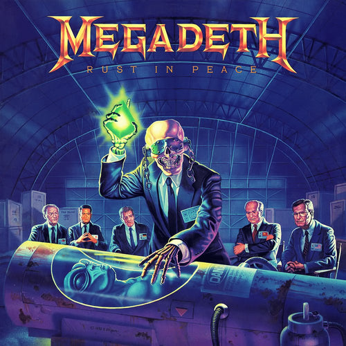 MEGADETH - Rust In Peace (Vinyle) - Capitol