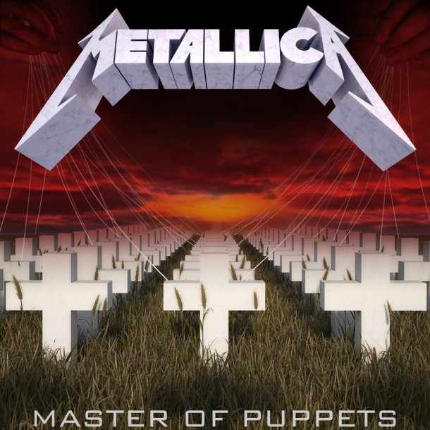 METALLICA - Master of Puppets (Vinyle) - Blackened