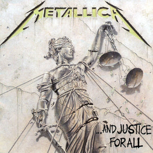 METALLICA - ...And Justice For All (Vinyle) - Blackened
