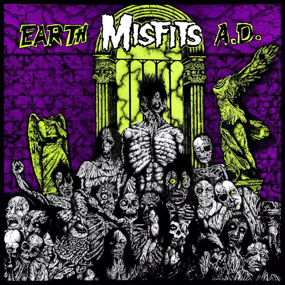 MISFITS - Earth A.D. / Wolf's Blood (Vinyle)