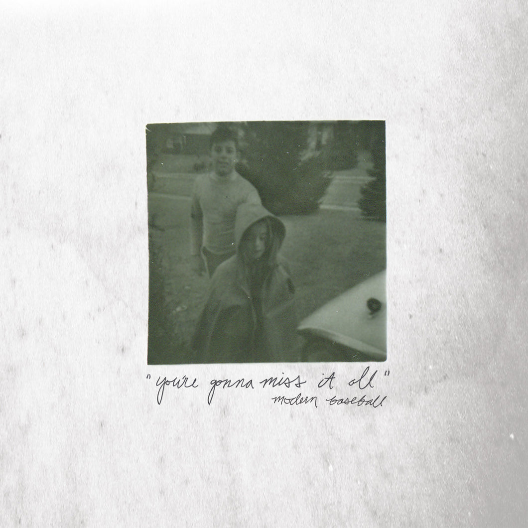 MODERN BASEBALL - You're Gonna Miss It All (Vinyle) - Run For Cover